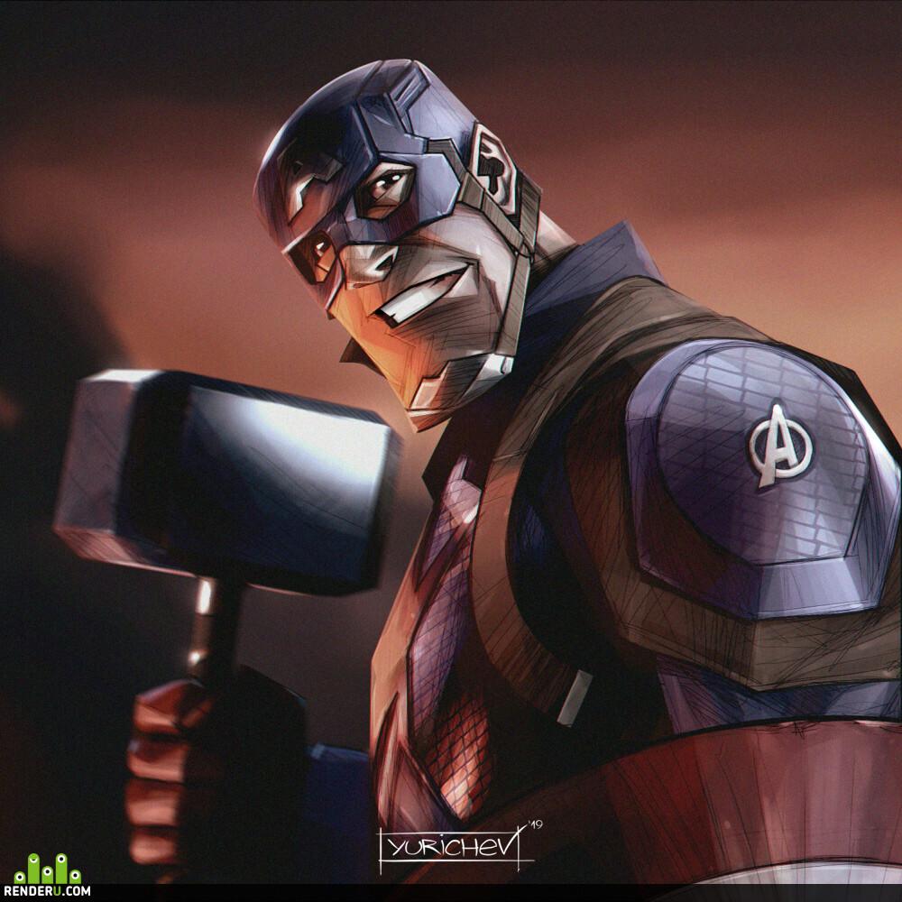 preview Капитан Америка (Мстители: Финал)