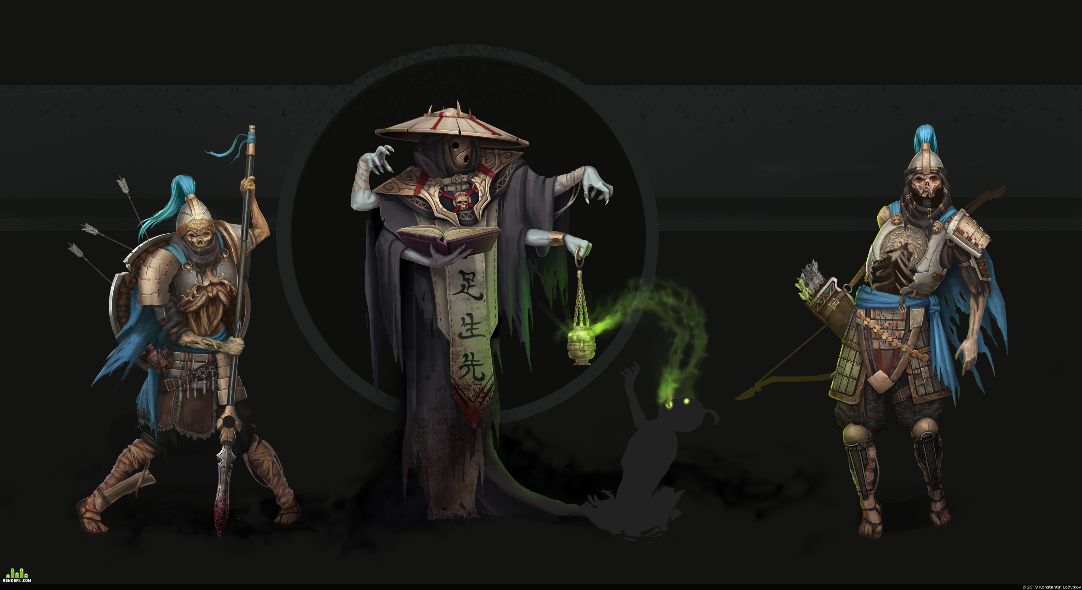 preview chinese undead concept