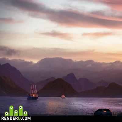 preview Sea landscape