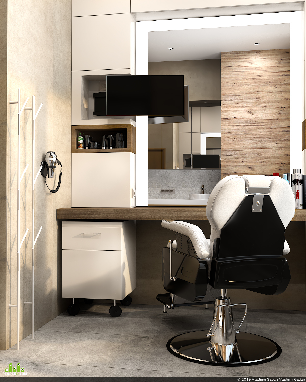 preview Cabinet in the spa salon