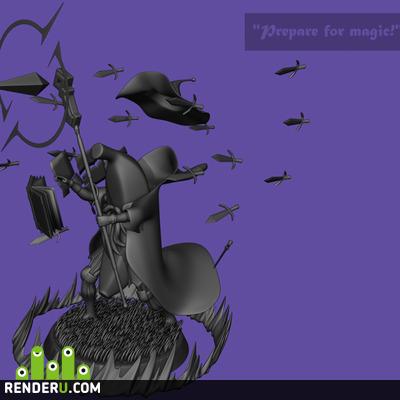 "preview ""Prepare for magic!"", Bananium wizard"