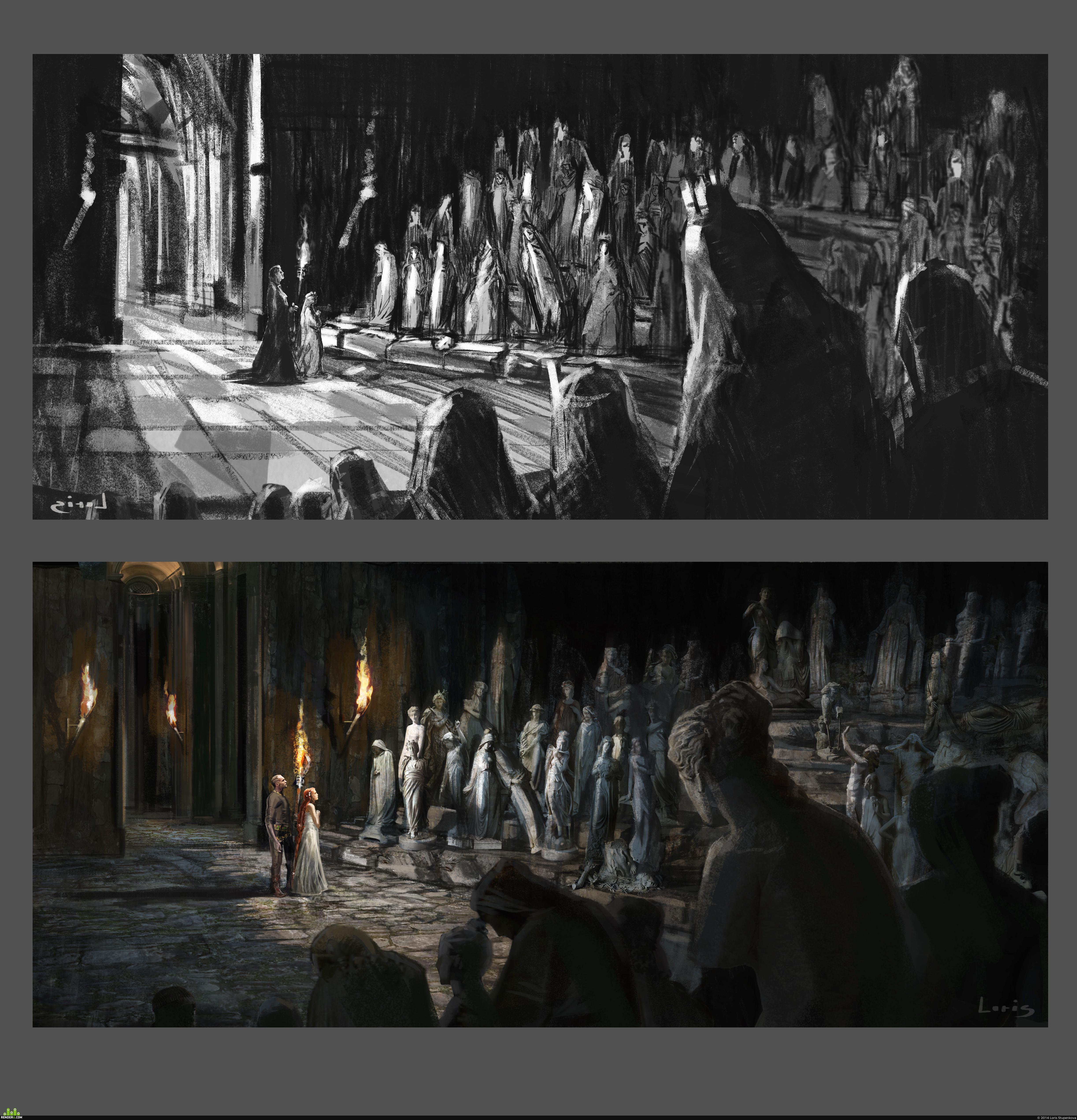 preview Концепт к фильму «Он Дракон»