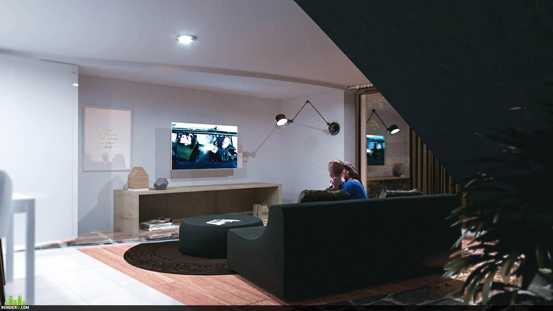 preview OFIR interior design RENDER