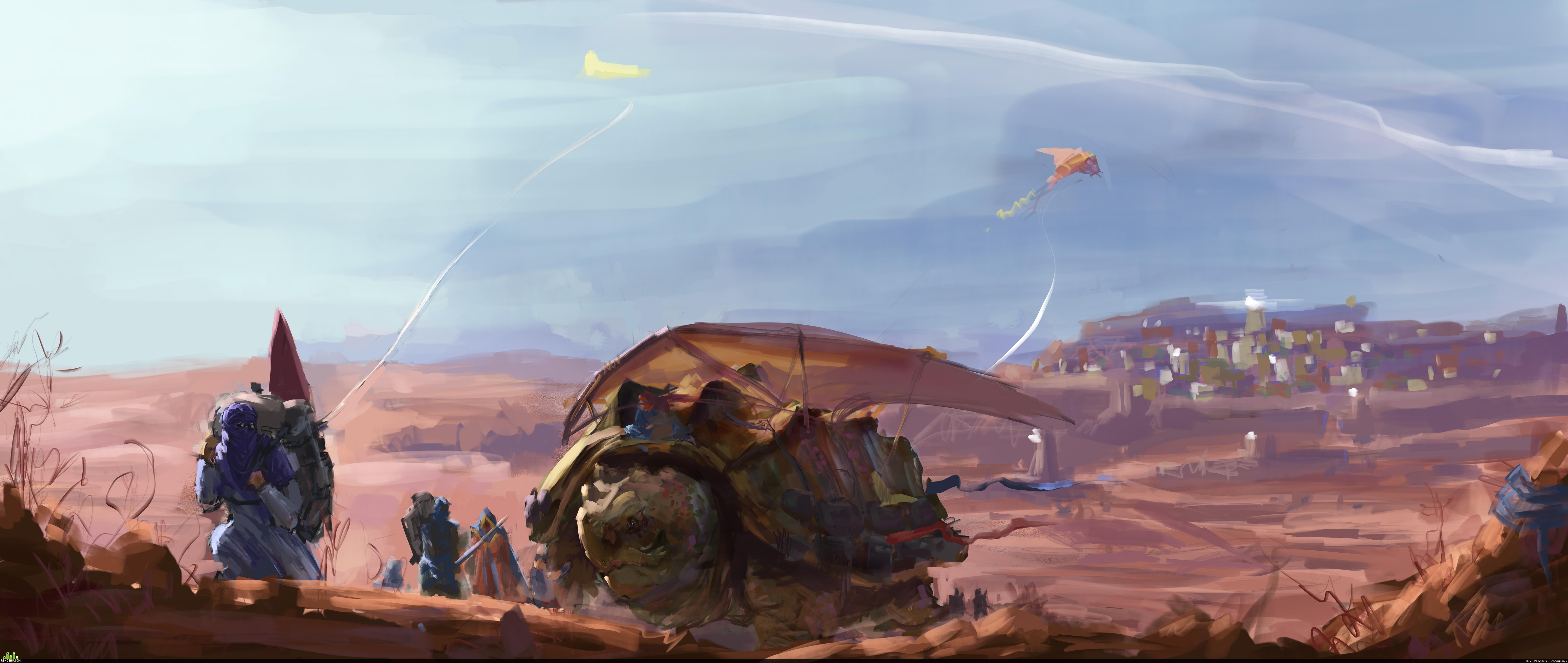 preview Караван из Красной пустыни