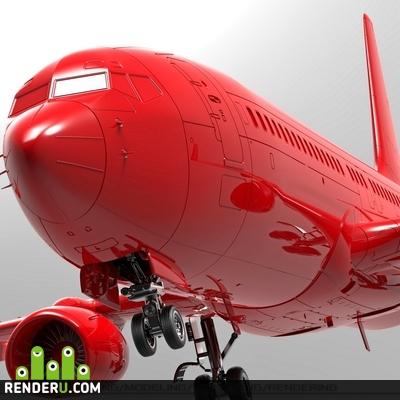 preview Модель (конструктор) самолёта B-737
