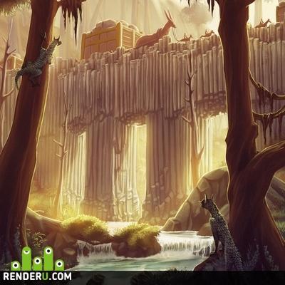 preview Через лес