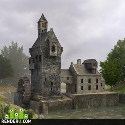 preview Водяная мельница