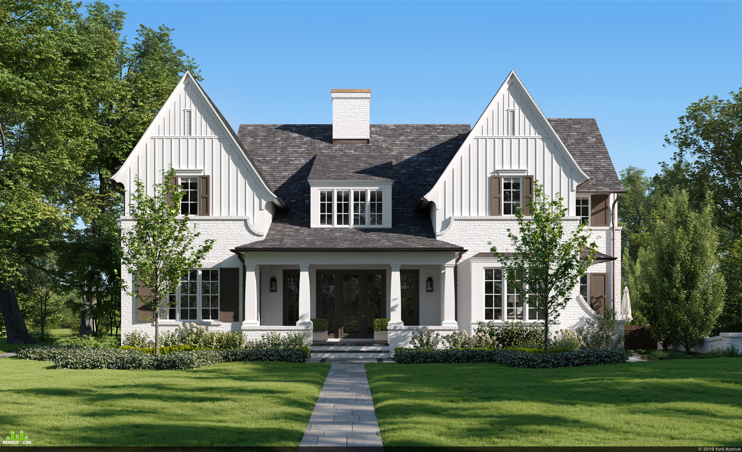 preview Transitional Hinsdale Abode