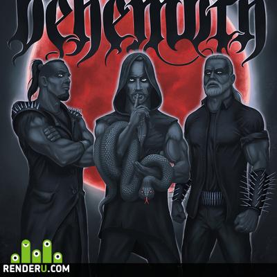 preview Behemoth фан-арт.