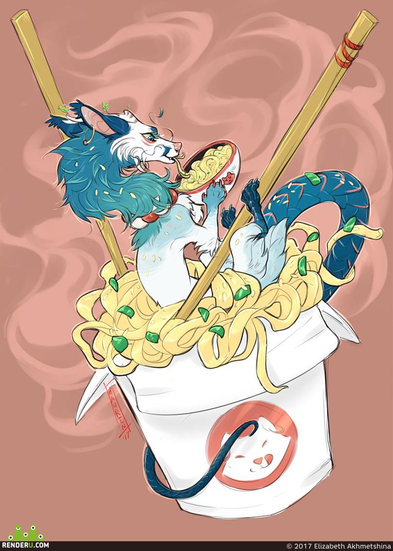 preview Dragon wok
