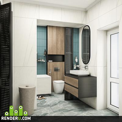 preview Интерьер ванной комнаты