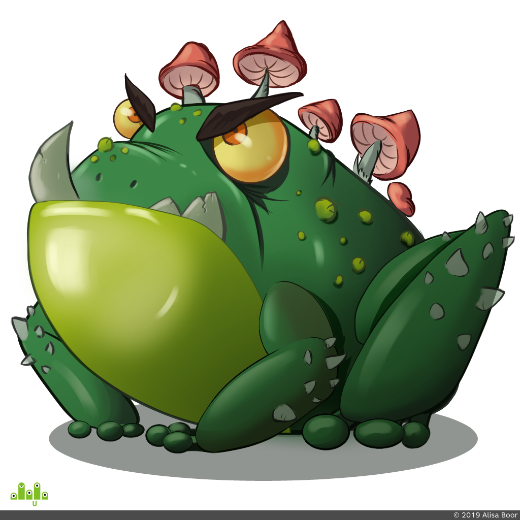 preview concept frog