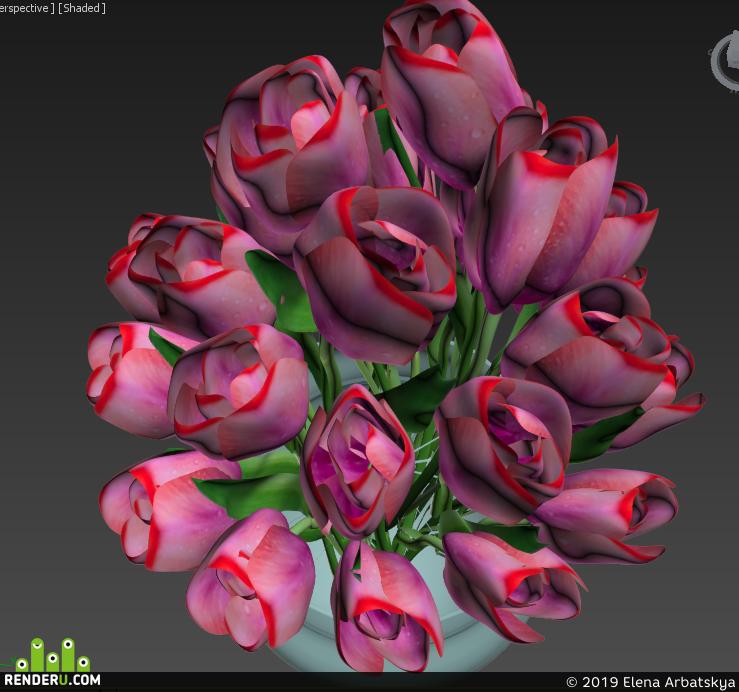 preview 3d моделирование в 3ds Max