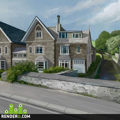 preview Дом у реки