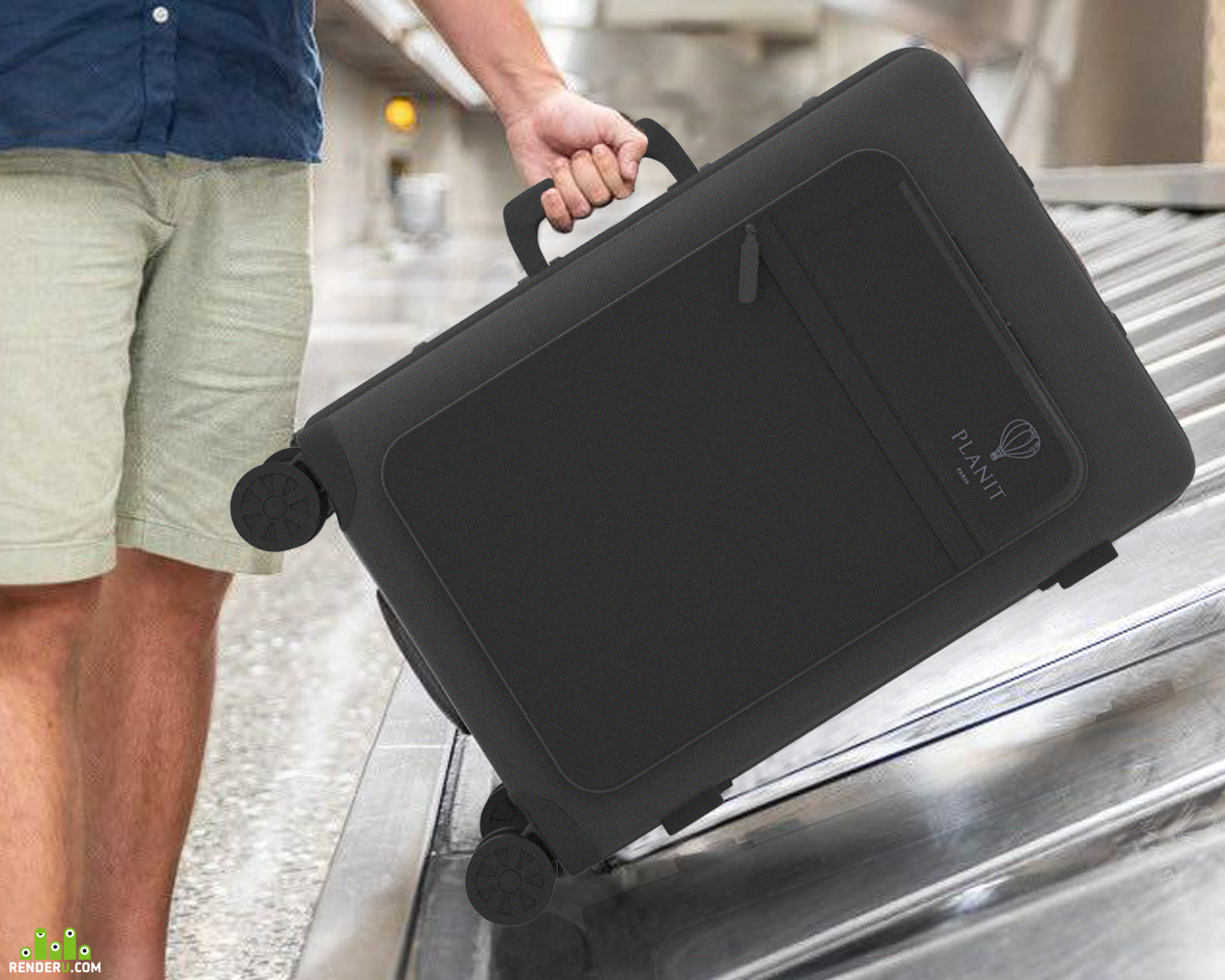 "preview Дизайн чемодана ""PLANIT Paris"""
