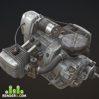 preview Flat engine