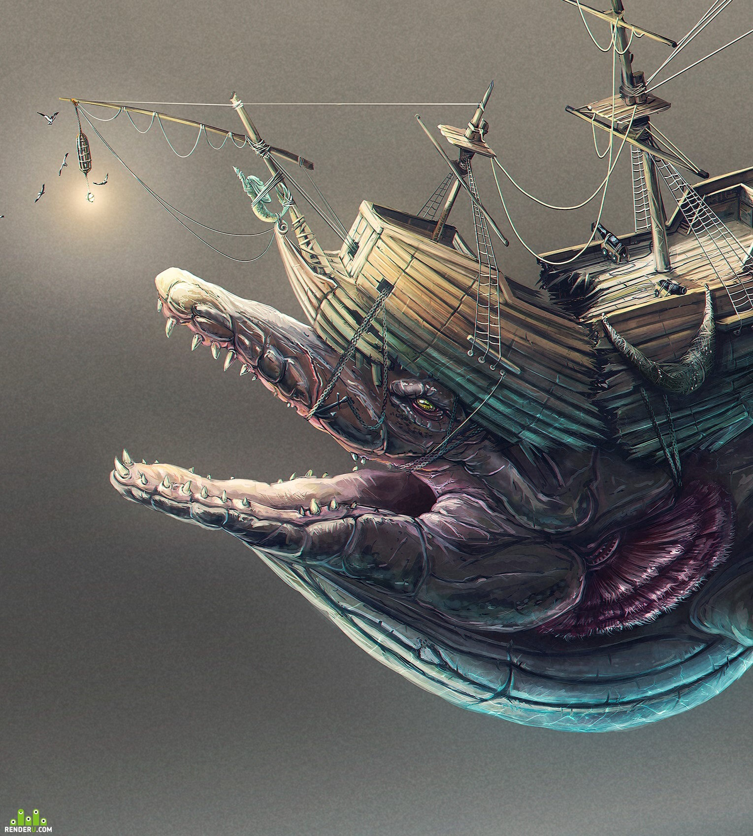 preview Ship monster