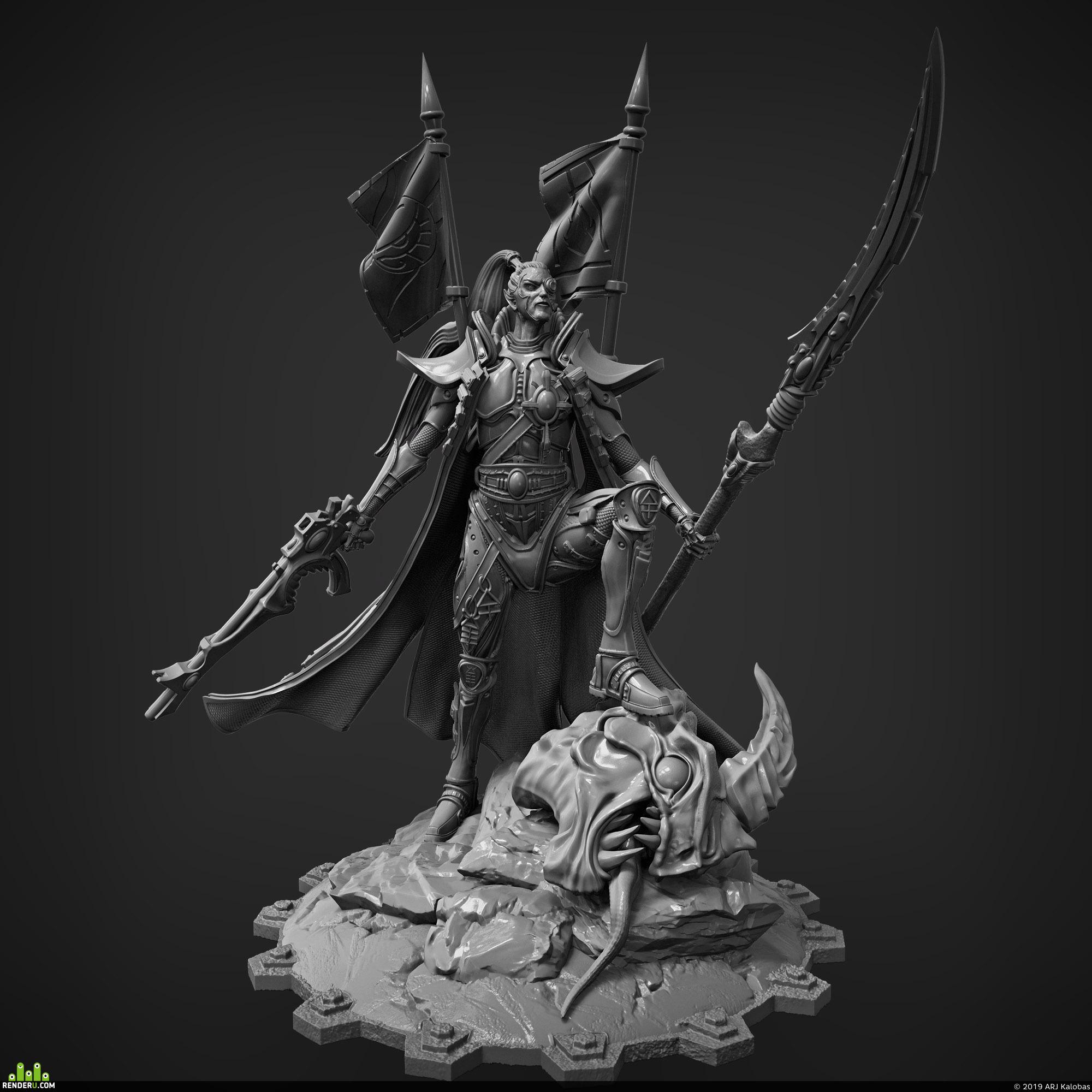 preview Prince Yriel Warhammer 40k