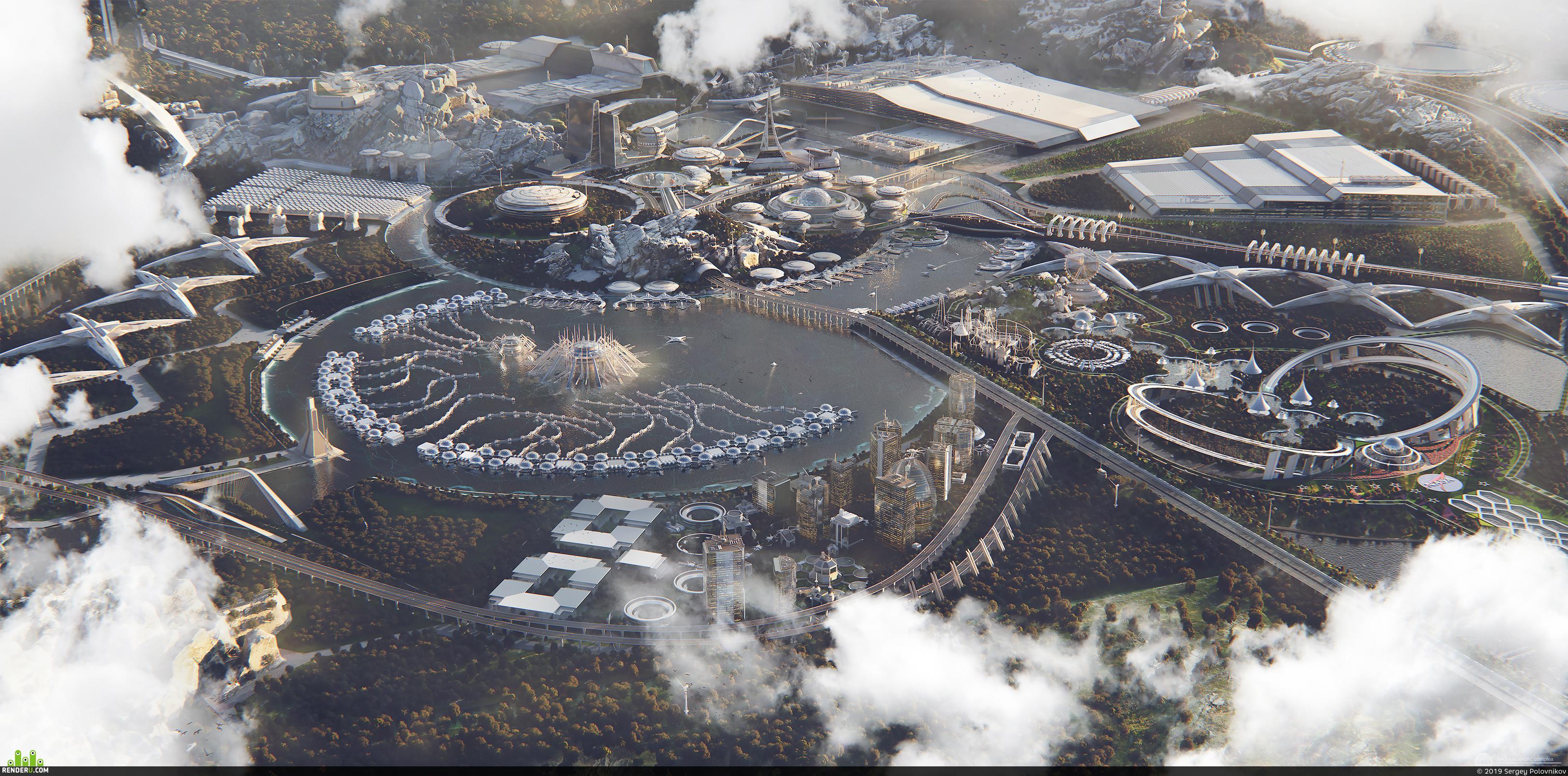 preview NASA science city concept