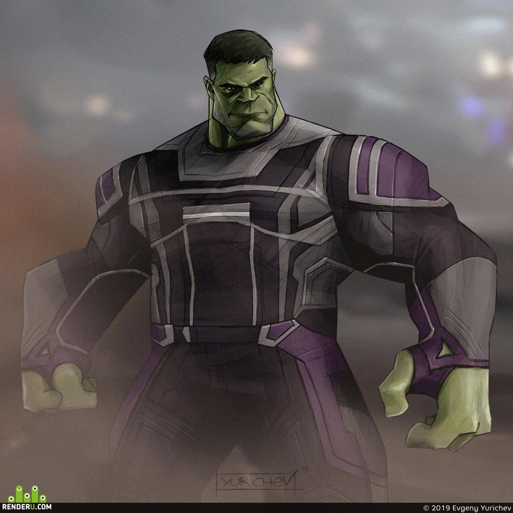preview Халк (Мстители: Финал)