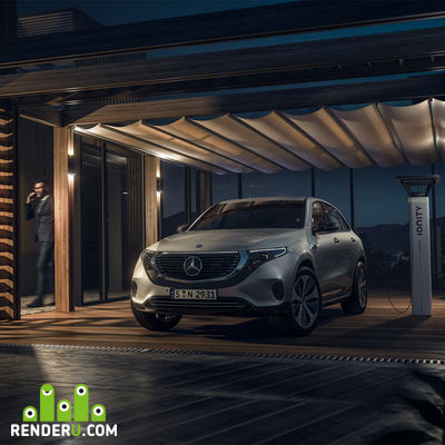 preview Mercedes EQC