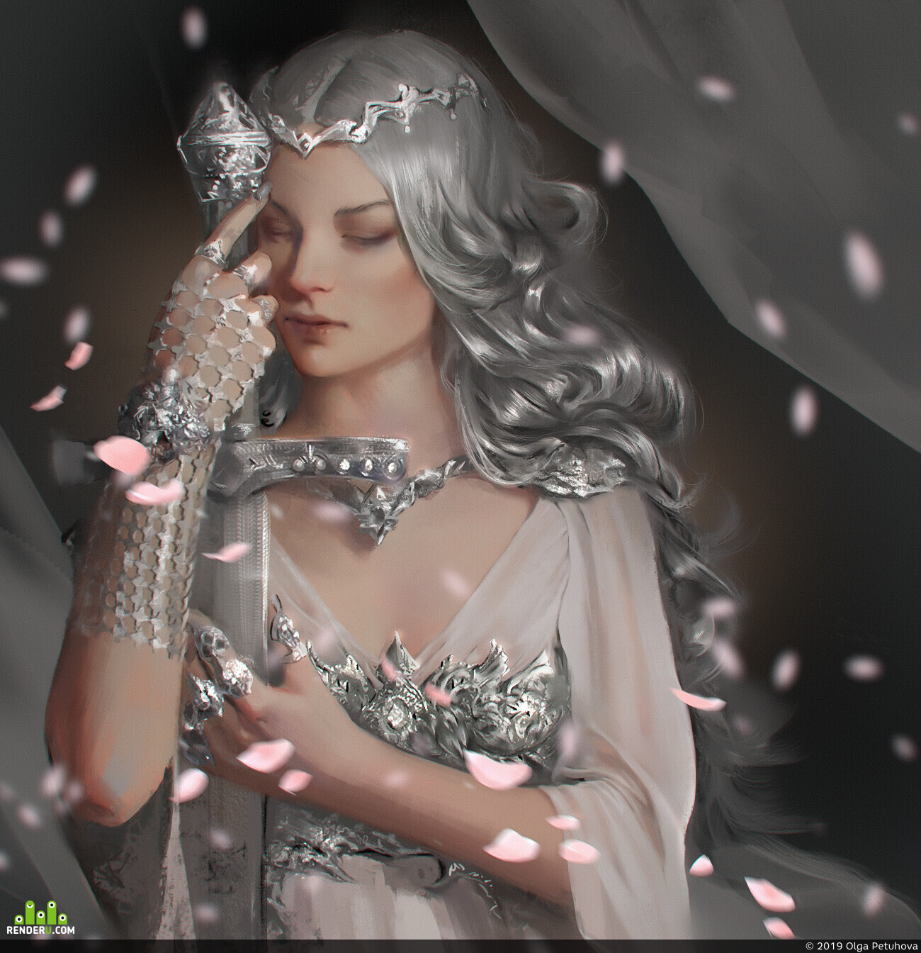preview Silver maiden