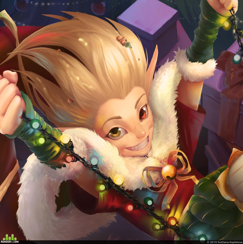 preview Christmas Zoe