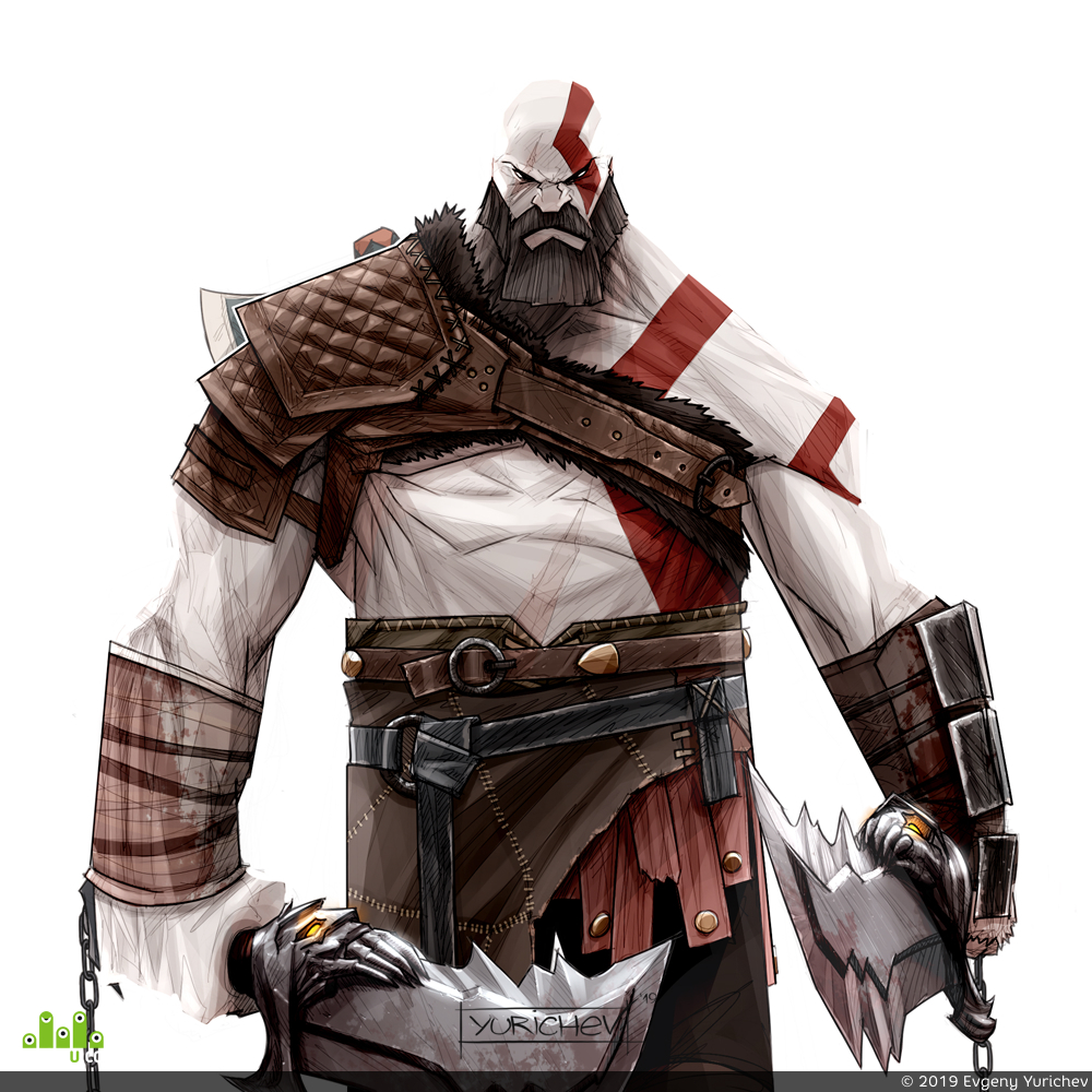 preview Kratos (God of War)