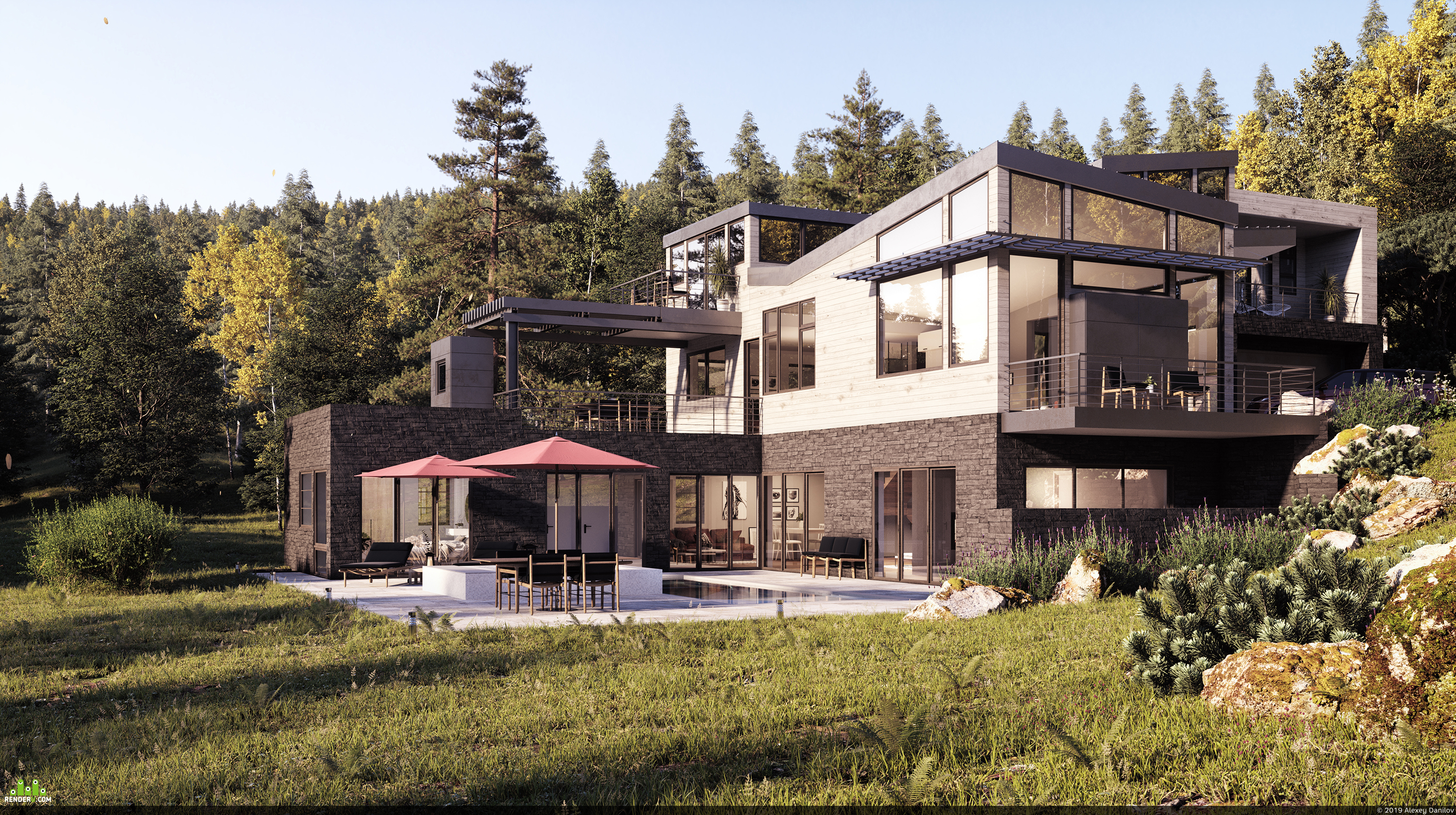 preview House in the mountains