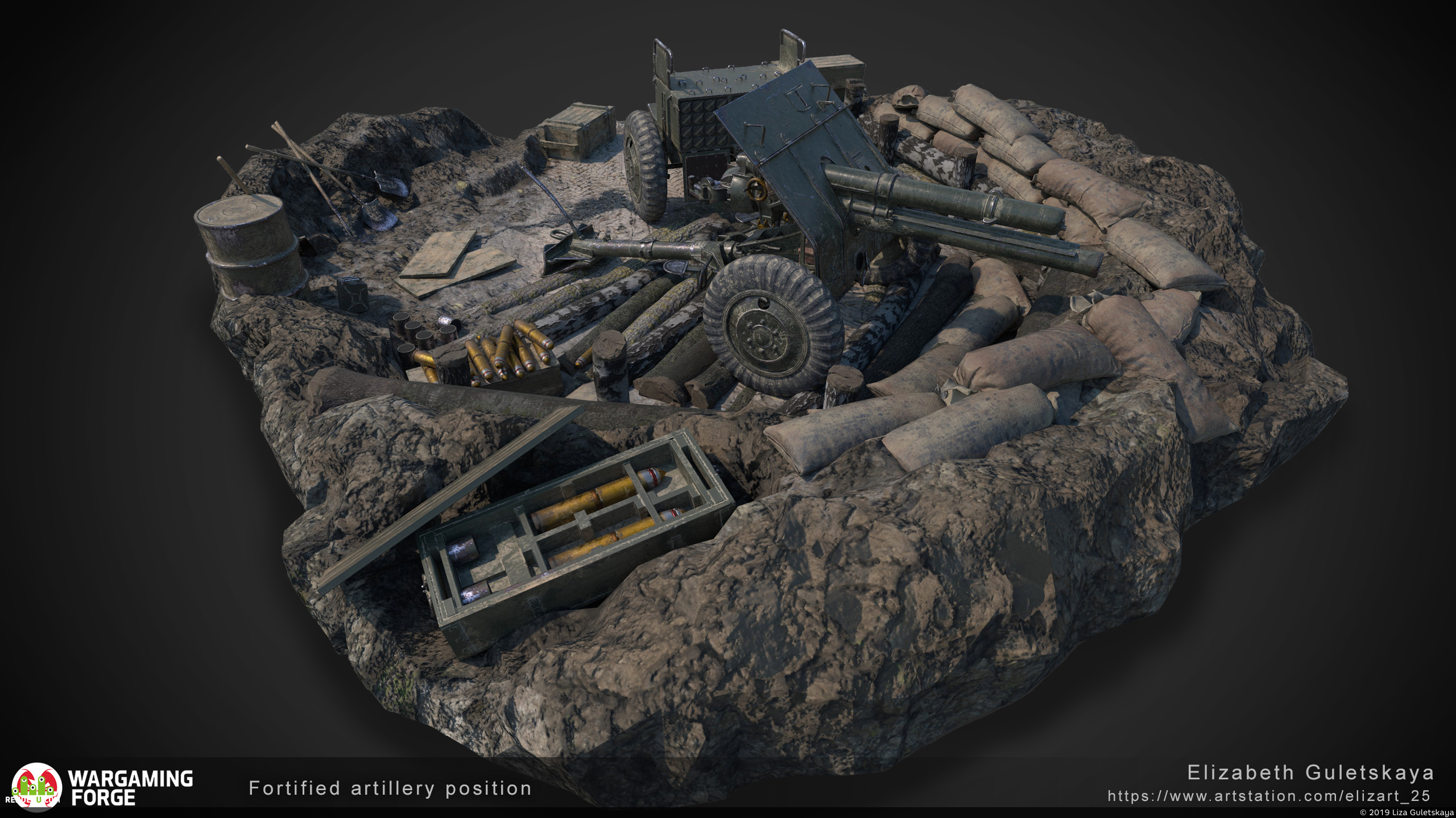 preview Fortified artillery position