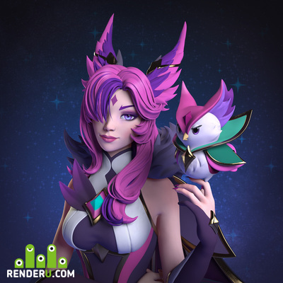 preview Star Guardian Xayah