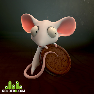 preview Little White Mouse