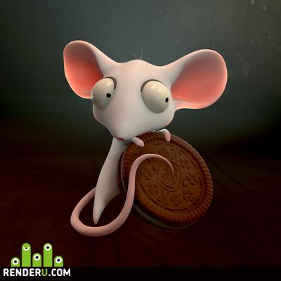preview Белая мышь