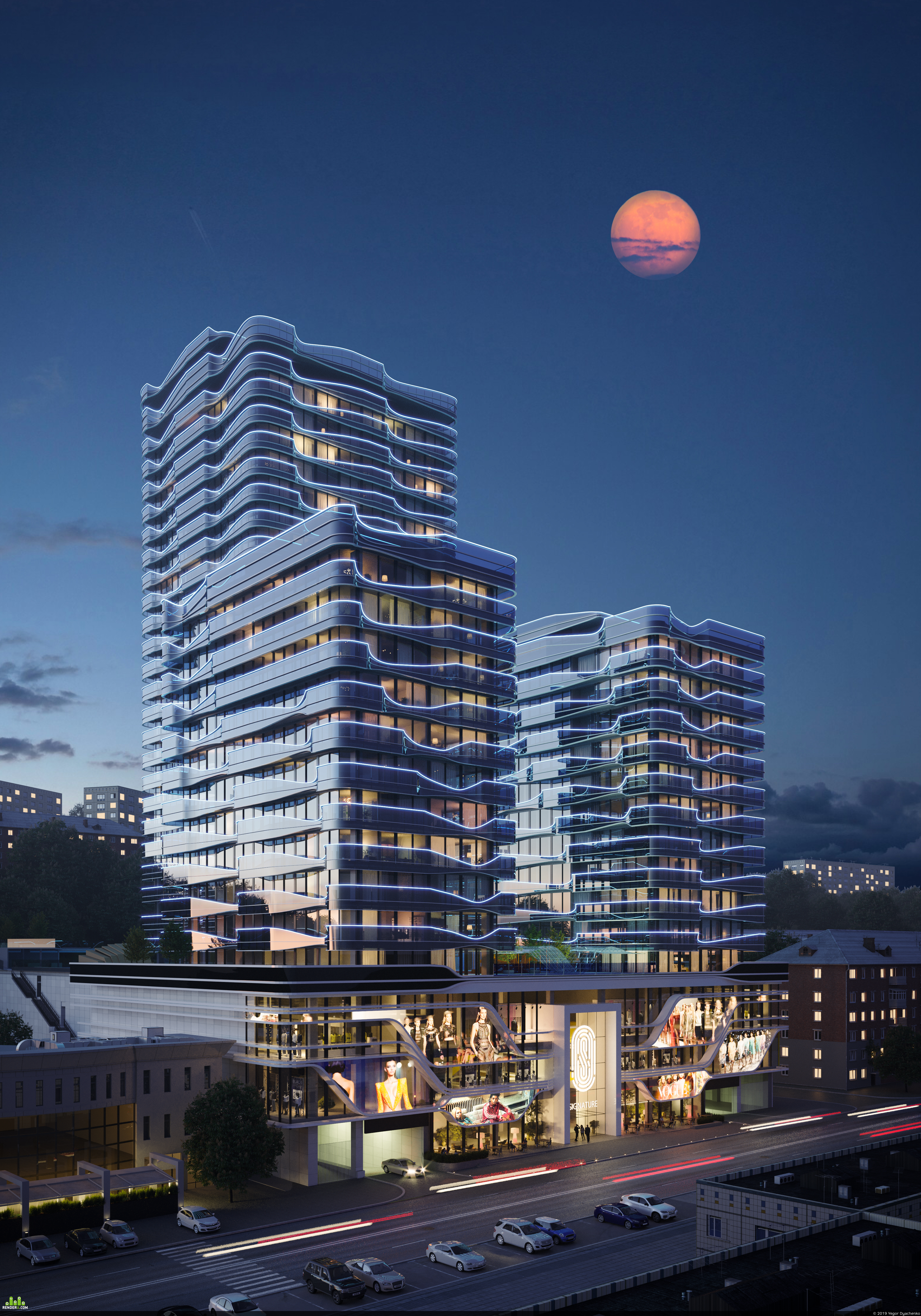 """preview Residential complex """"SIGNATURE"""", Kyiv"""