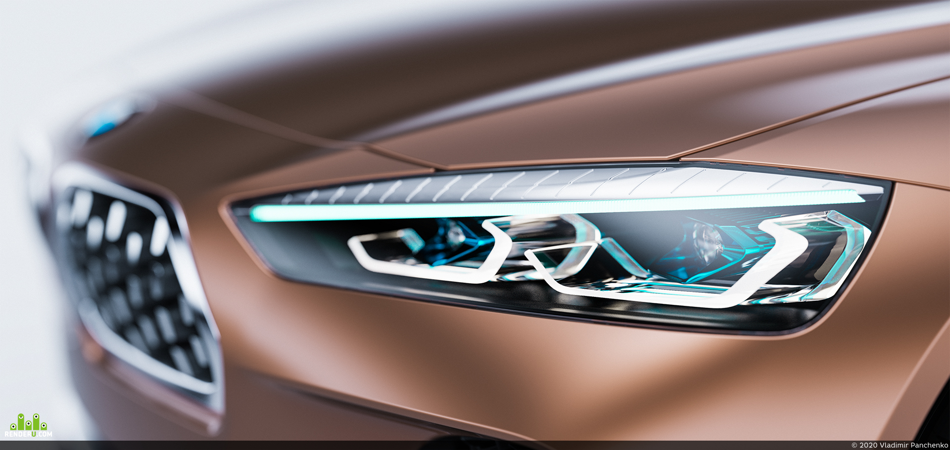 preview BMW coupe 2020 concept