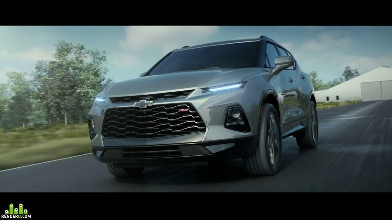 preview Chevrolet Blazer RS 2019 CGI Animation