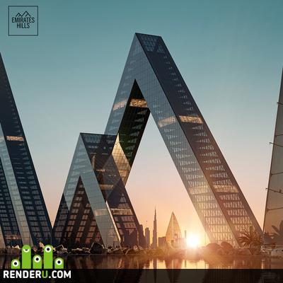 preview Emirates Hills, Dubai UAE
