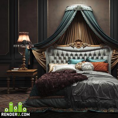 preview Provasi Conchiglia Bed