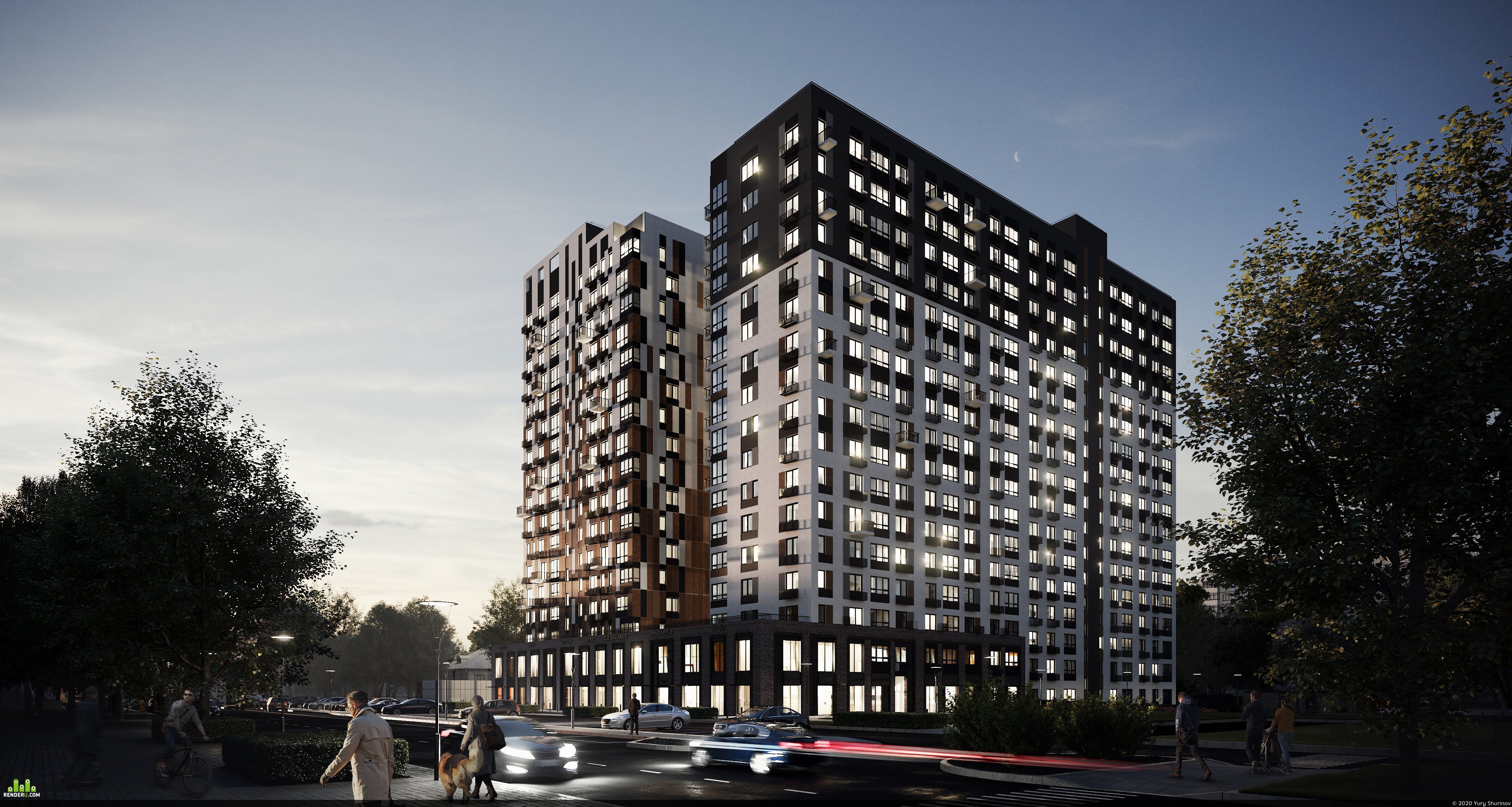preview Apartment house in Izevsk