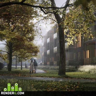 preview Жилой комплекс с городским огородом