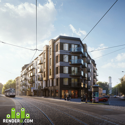 preview Riga Residential Property 3D Visualization