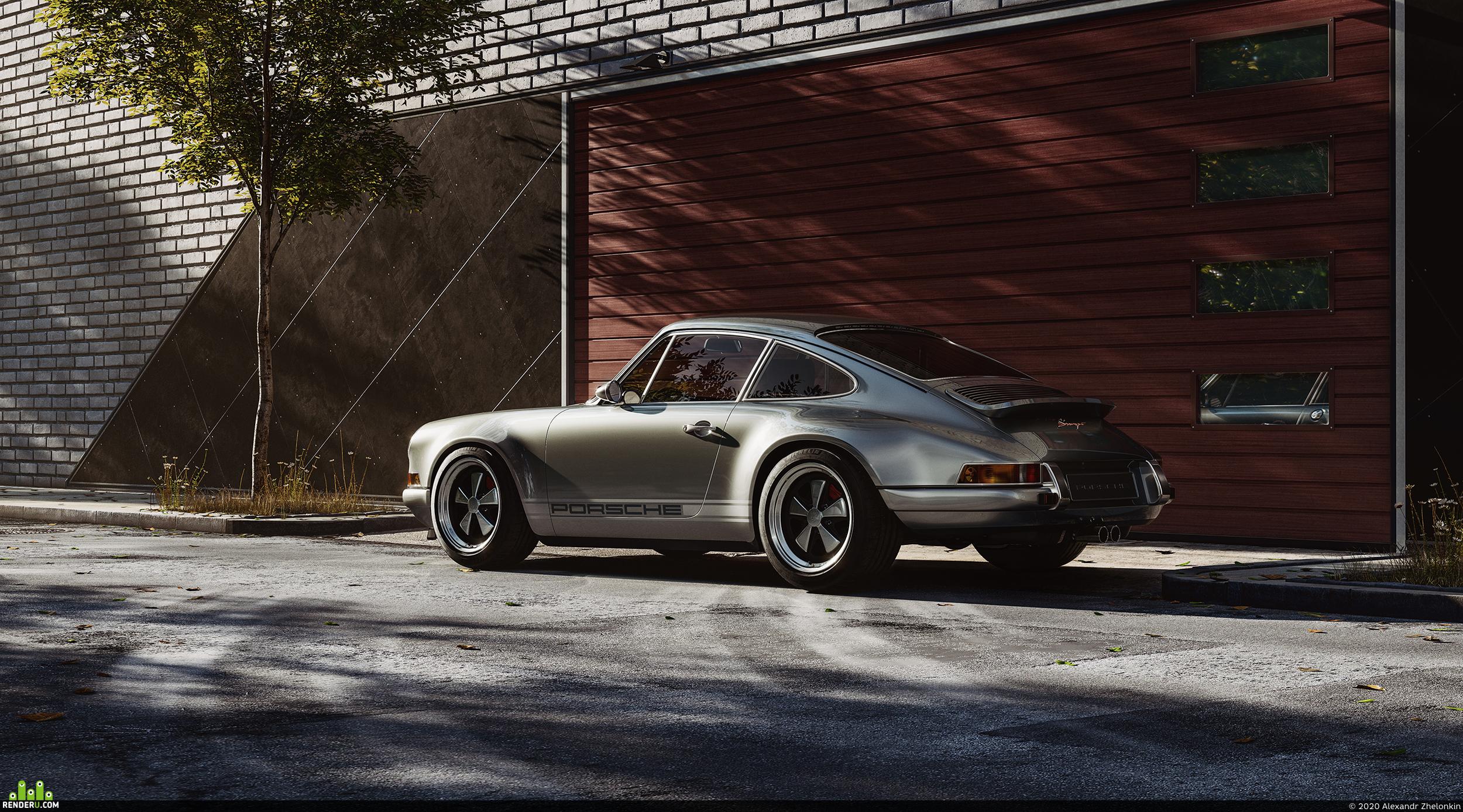 preview Porsche 911 by Singer | Full CGI