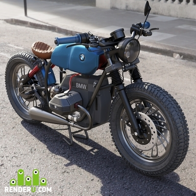 preview BMW Cafe Racer Custom