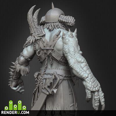 preview Marauder (Warhammer fan art)
