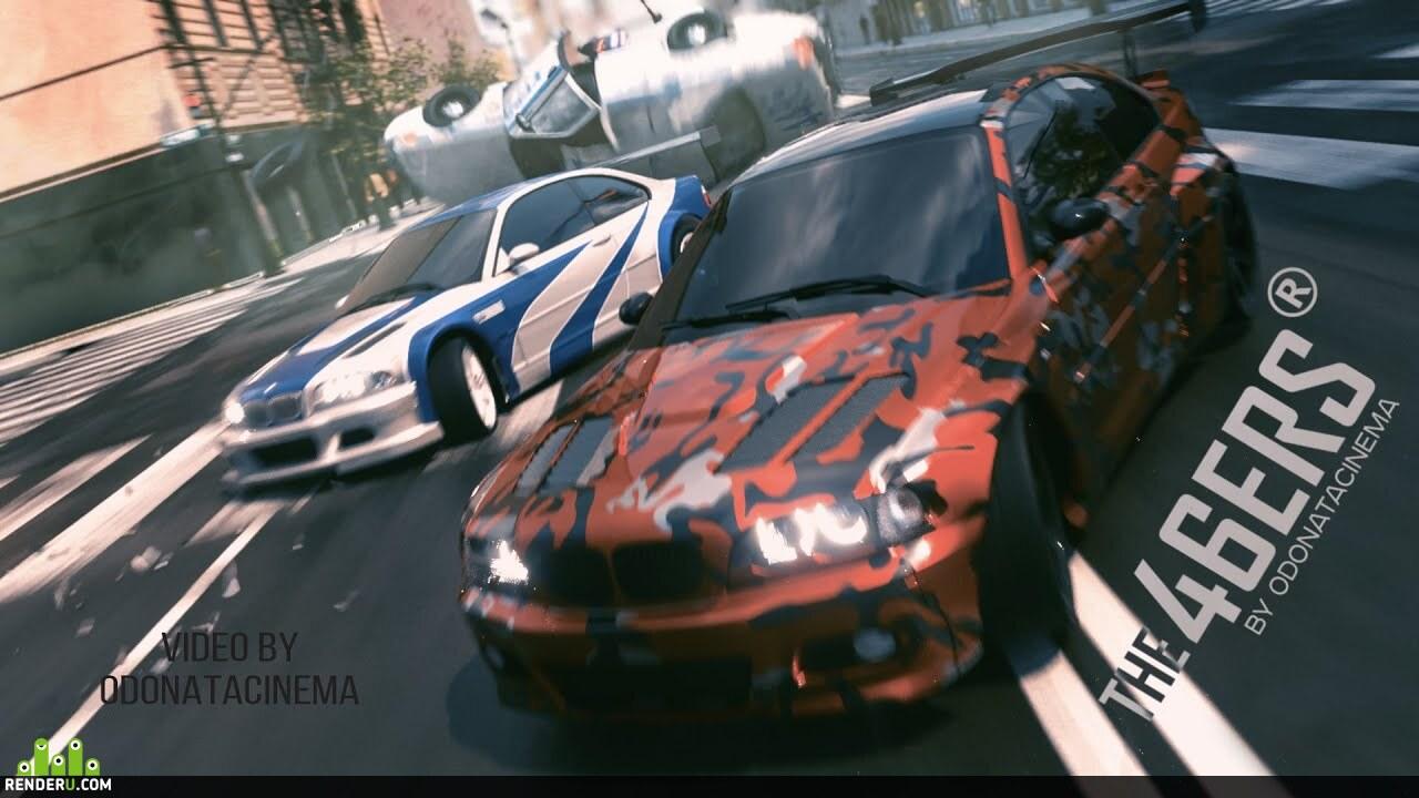preview Самодельный Need For Speed. CGI Анимация