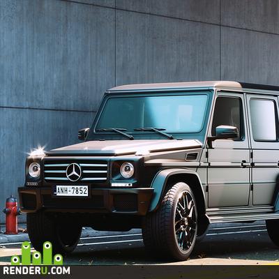 preview Mercedes Benz Jeep (CG)
