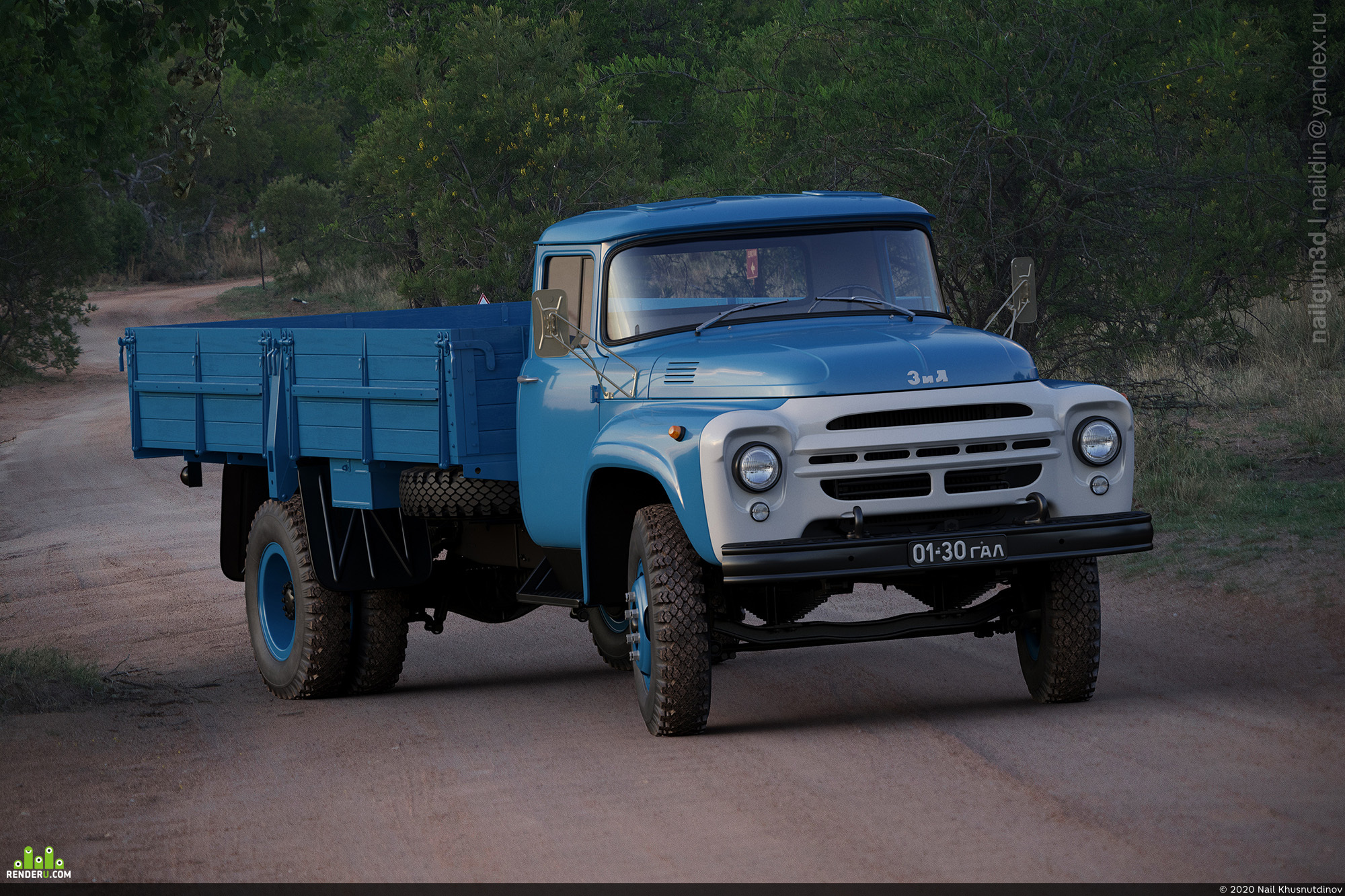 preview ZIL-130G