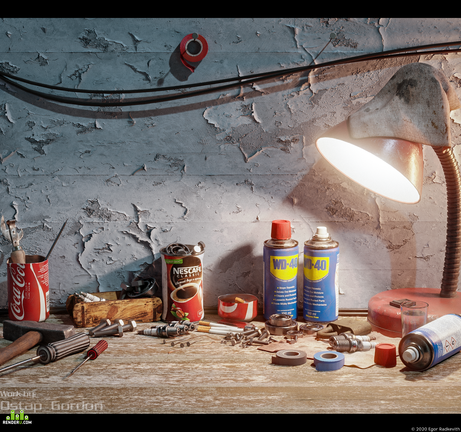 preview Russian Garage (GameReady Asset pack)
