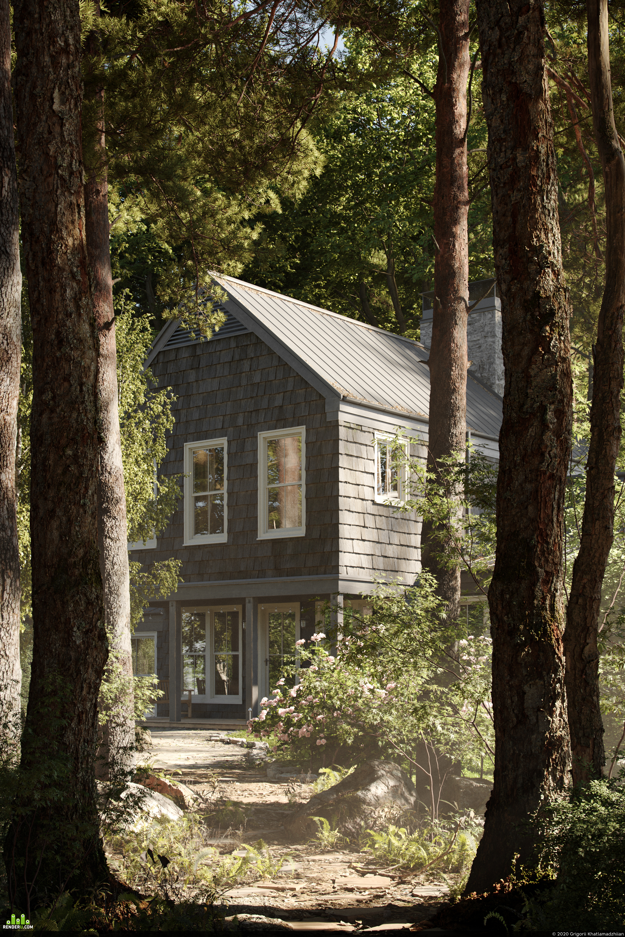 preview BAINBRIDGE HOUSE IN THE FOREST