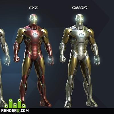 preview Iron Man Mark 45